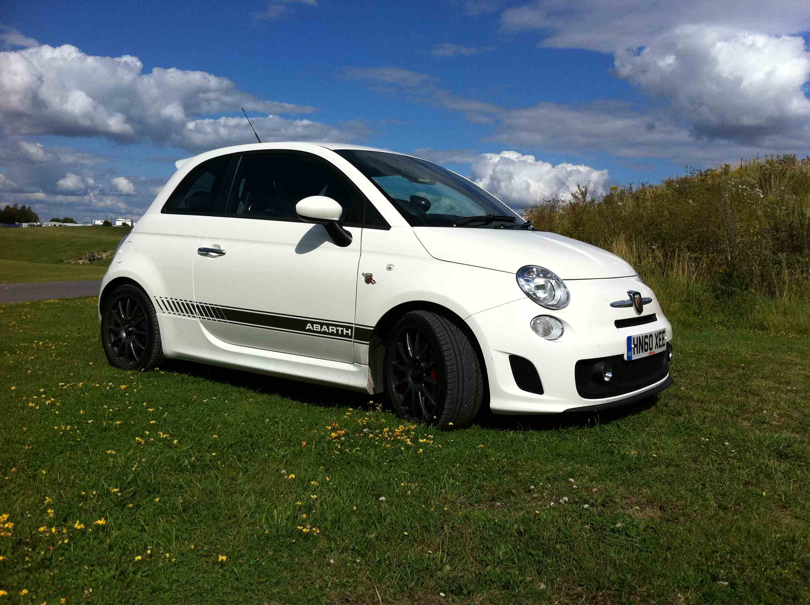 ahm abarth 500 standard rate lowering springs for the ss ahmotorsports. Black Bedroom Furniture Sets. Home Design Ideas